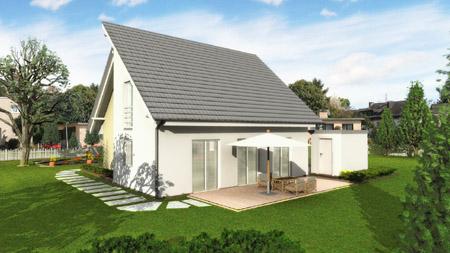 Fertighaus massivhaus hausbau havixbeck altenberge nottuln for Muster einfamilienhaus
